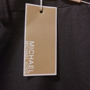 NWT Michael Kors Men Gey Dress Pants 34W